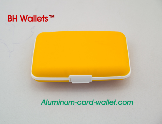Silicone Credit Card Wallet Cases Holder