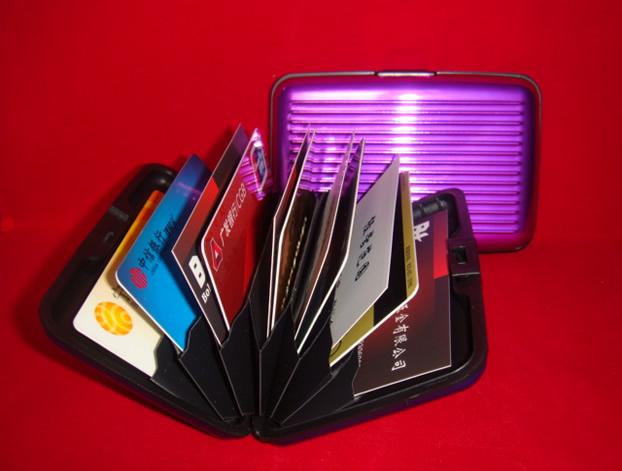 Credit Card Aluminum Wallet
