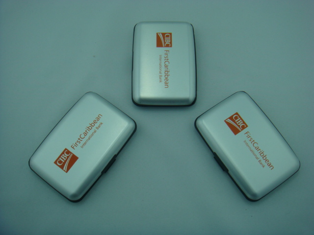 Aluminium Wallets For Bank Promotion