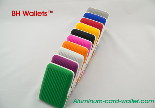 Silicone Business ID Credit Card Holder Wallet
