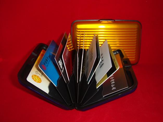 Protect RFID Scanning Aluminum Case