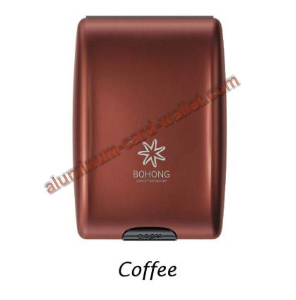 2013 New Style Mutifunction Aluminum Wallet Coffee