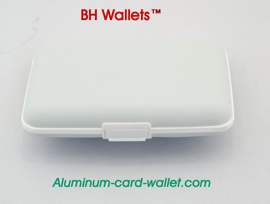 Silicone Wallets As Seen On TV Card Holder White