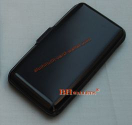 Extra Large Aluminum Wallets Indestructible Black