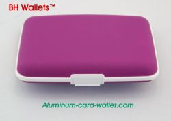 Card & ID Holders Silicone Wallet Purple