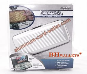 2013 New Style Aluminum Wallet Silver Color Big Size