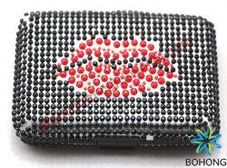 RFID Proof Crystal Wallets Aluminum