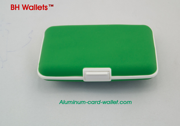Green Silicone Wallets