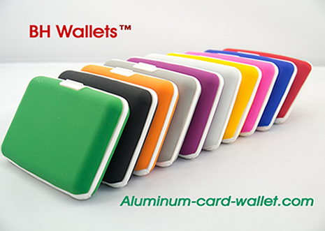 Silicon Credit Card Holders Wallet Safety