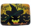 Printed Aluminum Wallet With Halloween