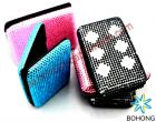 Protect Against Identity Theft Aluminum Crystal Wallets